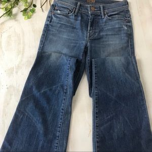 MOTHER the cruiser mid rise flare jeans size 26